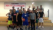 Mens Indoor Pick-up Basketball in Long Island City