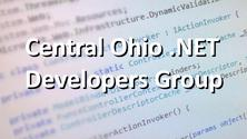 Central Ohio .NET Developers  Group