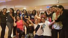 Bollywood Dance Fitness with Seema In Person & on Zoom