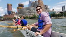 Free Outrigger Canoe Paddling at Hudson River Park's Pier 66