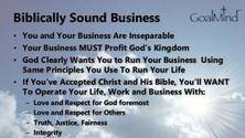 EMC2  - Entrepreneurs Ministry Club Connection - Biblical Entrepreneurship
