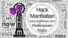 Shakespeare Night Presents: (via ZOOM): See schedule below.