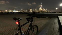 Hoboken Critical Mass Light Up The Night Bike Tour