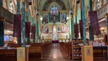 Mass at Our Lady of Guadalupe at St. Bernard's, Social at La Nacional