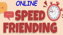 Speed FRIENDING - Expand Your Social Network (Online/Fundraiser)