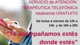 QUE ESTÉS BIEN. Servicio telefónico terapéutico GRATUITO. (+34) 679 953 649