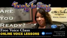 Free Voice Lessons Breathing & PitchClass