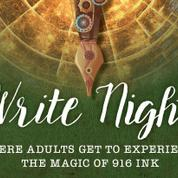 916 Ink Virtual Adult / Community Write Nights Group