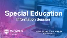 MA in Special Education Information Session