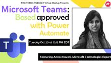 Microsoft Team based approvals with Power Automate
