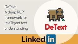 DeText: A Framework for Deep Natural Language Understanding at LinkedIn