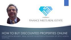 How To Buy Discounted Properties Online, w/ Konstantin Boubev