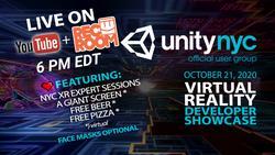 UnityNYC October 2020 - Virtual Beer, Virtual Pizza, Real UnityNYC Charm