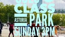 Outside Solo Swing Dance Lesson at Astoria Park!!
