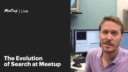 The Evolution of Search at Meetup