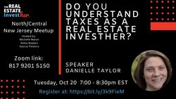Do You Understand Taxes as a Real Estate InvestHer?