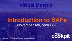 VIRTUAL SESSION - Introduction to SAFe
