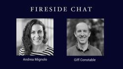 Fireside chat with Andrea Mignolo, exec coach and design/product leader