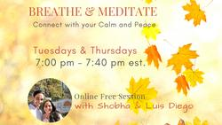 Breathe & Meditate - Connect with your Calm & Peace