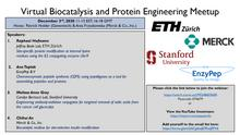 BIOCONJUGATION December Biocatalysis and Protein Engineering Meetup Special Ed.