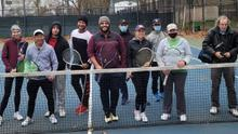 Saturday Tennis at Flushing.  Plus Tour the indoor courts at The USTA Center.