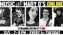 Music at Mary O's Online (5 Acts, feat. Christine Sweeney & Hana Denson)