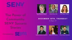 [Virtual Event] The Power of Community: SENY Success Stories