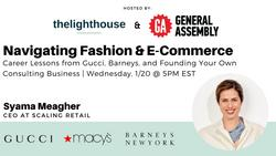 Navigating Fashion & E-Commerce: Career Lessons from Gucci and Barneys