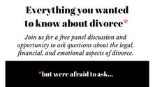 An Evening with Divorce Specialists