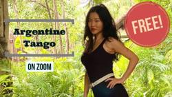 Free - Argentine Tango Absolute Beginners Class on Zoom