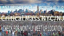 Critical Mass NYC / NJ - October 2021