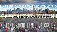 Critical Mass NYC / NJ - June 2021