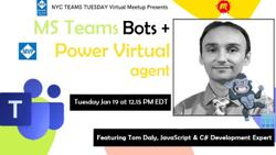 MS Teams Bots + Power Virtual Agents