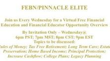 Free Financial Education and Financial Educator Opportunity Overview