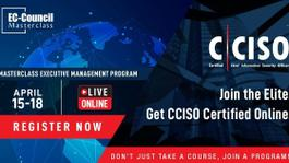 MasterClass Executive Management Program | CCISO |April 15 -18