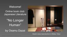 Online Book Club: No Longer Human by Osamu Dazai