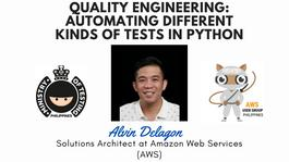 MoT-PH Meetup #April2021 QE: Automating Different Kinds of Tests in Python