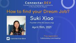 How to Find Your Dream Job? - Online Event - Connectar.DEV