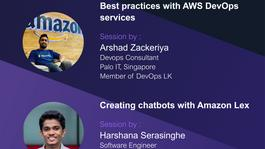 April Meetup (Online) - AWS User Group Colombo 2021