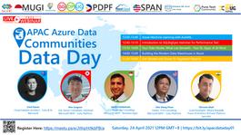 APAC Azure Data Communities: Data Day 01