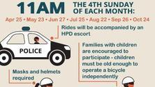 Hoboken Community Monthly Bike Ride