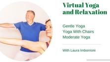 Virtual Yoga and Relaxation: Chair Yoga Classes