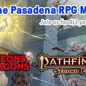 The Pasadena RPG Meetup at Gameology