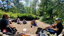 Central Park Acoustic Music Jam Session