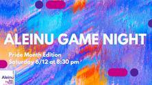 Pride Month Virtual Game Night