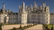 Virtual Travel to Chambord Castle in France: Classical Music and Fireworks