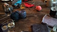 In person: Unwind and knit Wednesdays happy hour (Brooklyn)