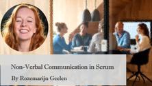 Non-Verbal Communication in Scrum