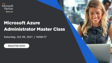 Virtual Meetup - Microsoft Azure Administrator Master Class
