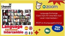 "Lingua Llama ""Intercambio"" Language exchange"